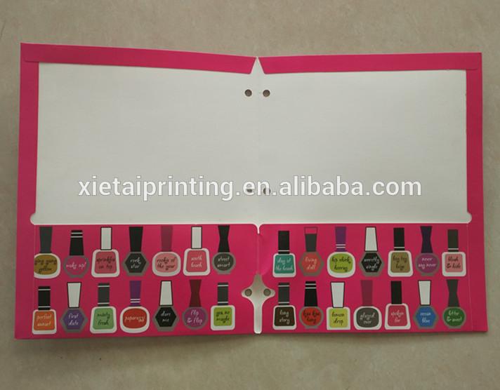 Custom A4 Size Handmade Paper Resume Folders - Buy 350gsm Art Paper