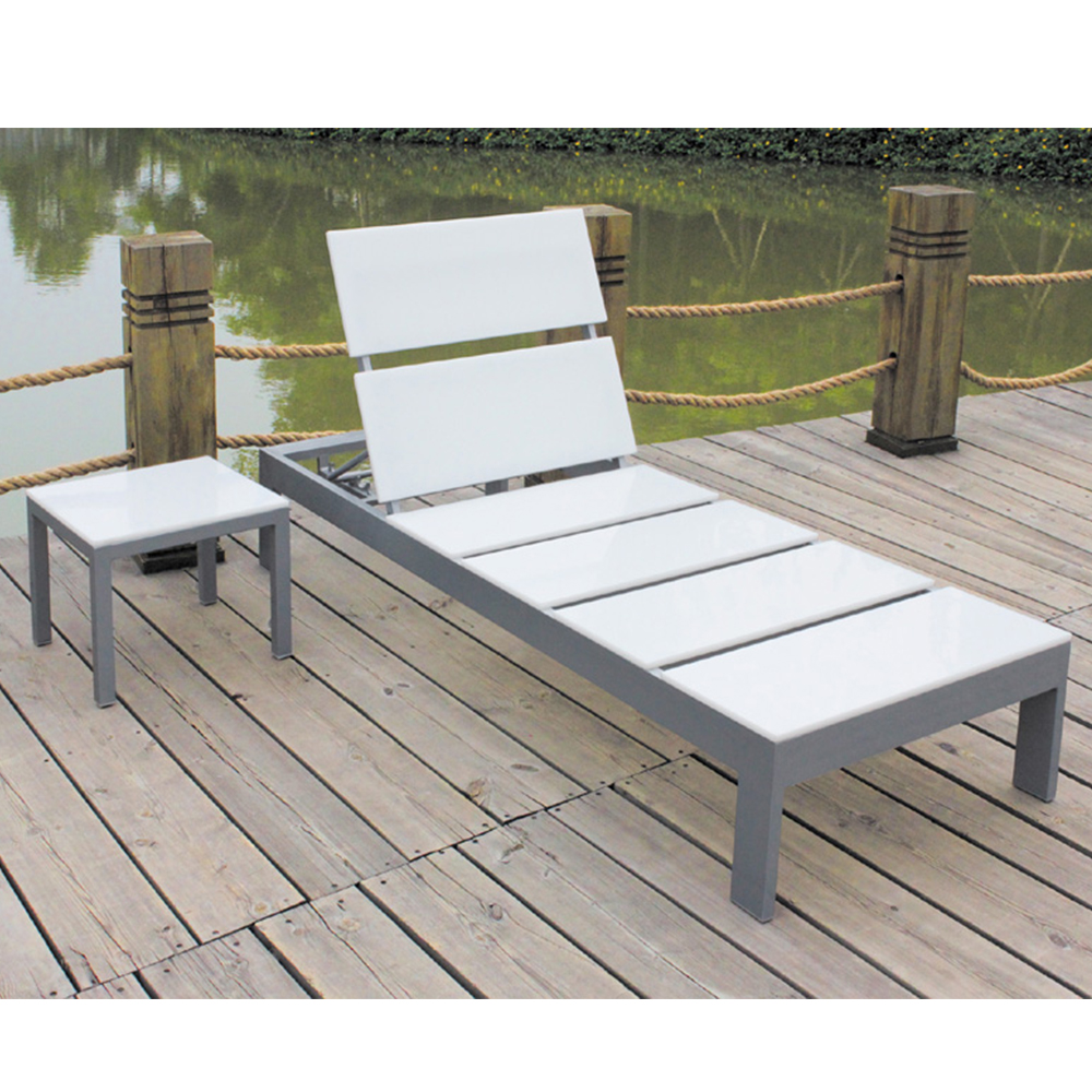 White Plastic Sun Loungers Plywood Garden Furniture Beach White Plastic Wood Outdoor Aluminum Sun Lounger Buy Sun Longer Outdoor Sun Lounger Beach Sun Lounger Product On
