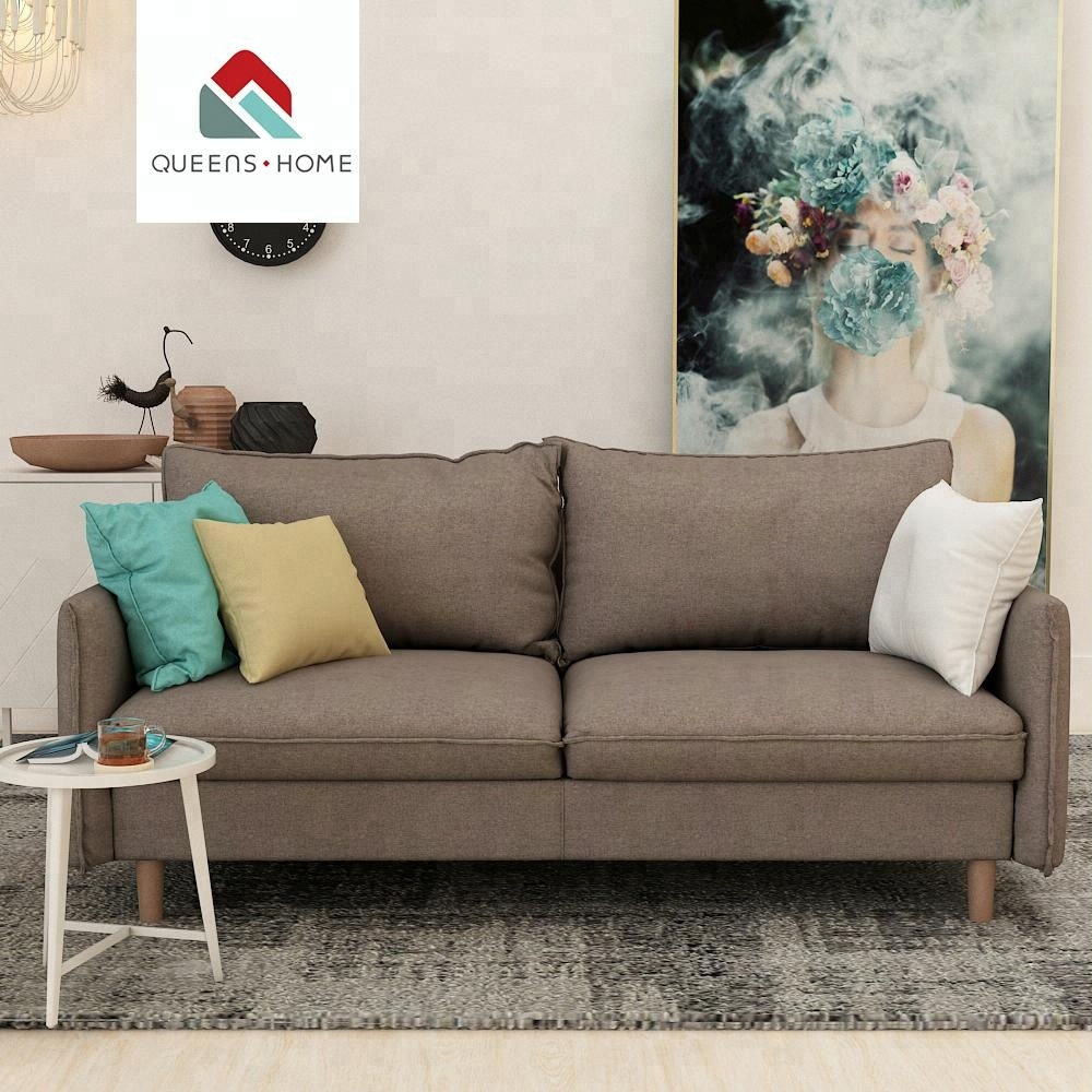 Canape Covertible Queenshome Design Divano Canape Convertible Gris Damro Sillon Tela Amber Manufacturers Grey Fabric Double Living Room Sofas Buy Cheap Living Room 5
