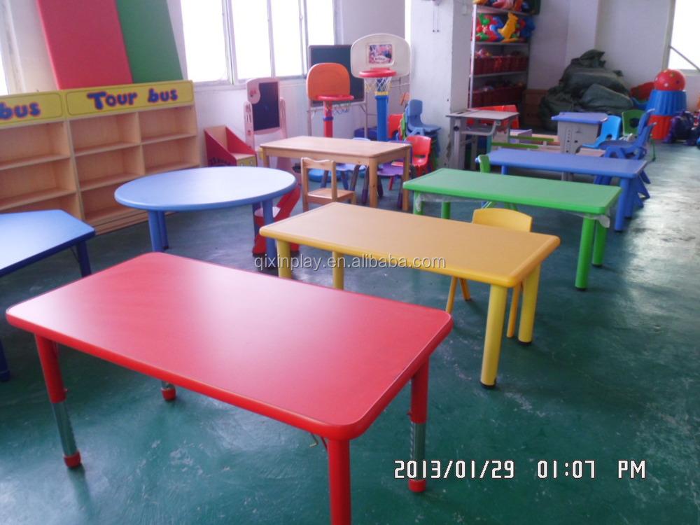 Colorful Cheap Kids Table And Chair Set Plastic Preschool Furniture Guangzhou Qx 193d Buy