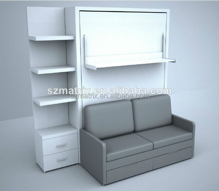 Klappbett Tisch Space Saving Furniture,space Saving Wall Bed With Sofa