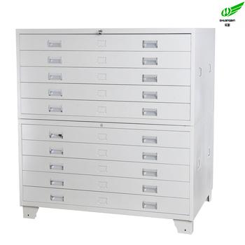 Office Multi Drawer Plan Filing Map Cabinet Metal Storage Cabinets