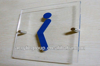 Manufacturer Supplies Elegant Acrylic Sign Holders Wall