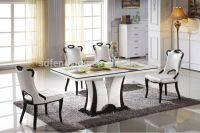 Italian Modern Marble Dining Tables Set - Buy Marble Top ...