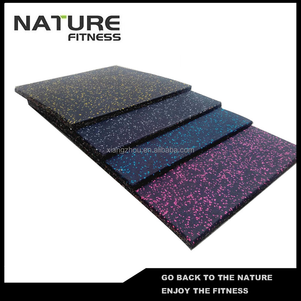 Gym Mat Flooring Whole Sale 1000mm 1000mm 15mm Black With Blue Flakes Natural Rubber Gym Flooring Mat Buy Rubber Gym Flooring Gym Mats Natural Rubber Floor Mats