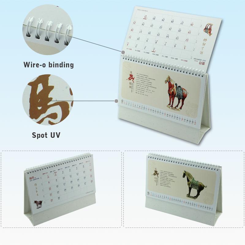 Free Sample Top-grade China Flip Table 2015 Design Design Calendar - sample 2015 calendar