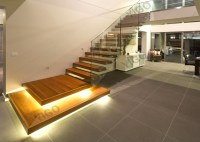 Wooden Staircase /wood Folding Stairs / Build Floating ...