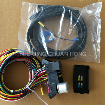 12v 8 Fuse Circuit Auto Wire Harness Kits For Muscle Car Hot Rod