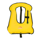 Made In China Light Weight Polyester Adults pvc inflatable children swim vest