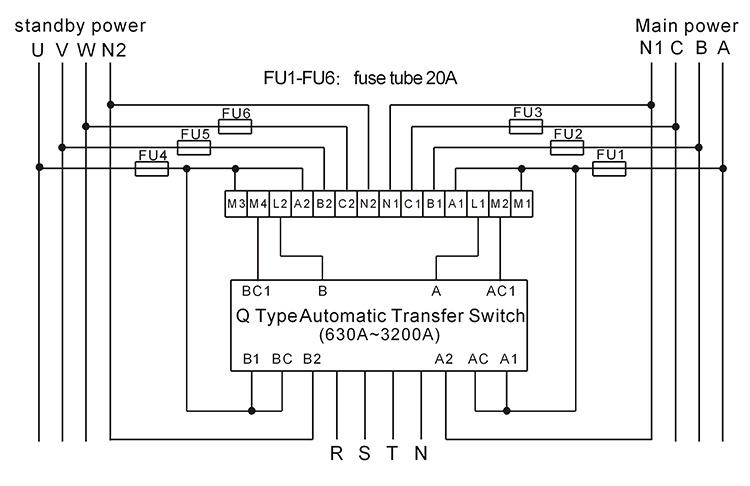 Automatic Transfer Switch Schematic Diagram Schematic Diagram