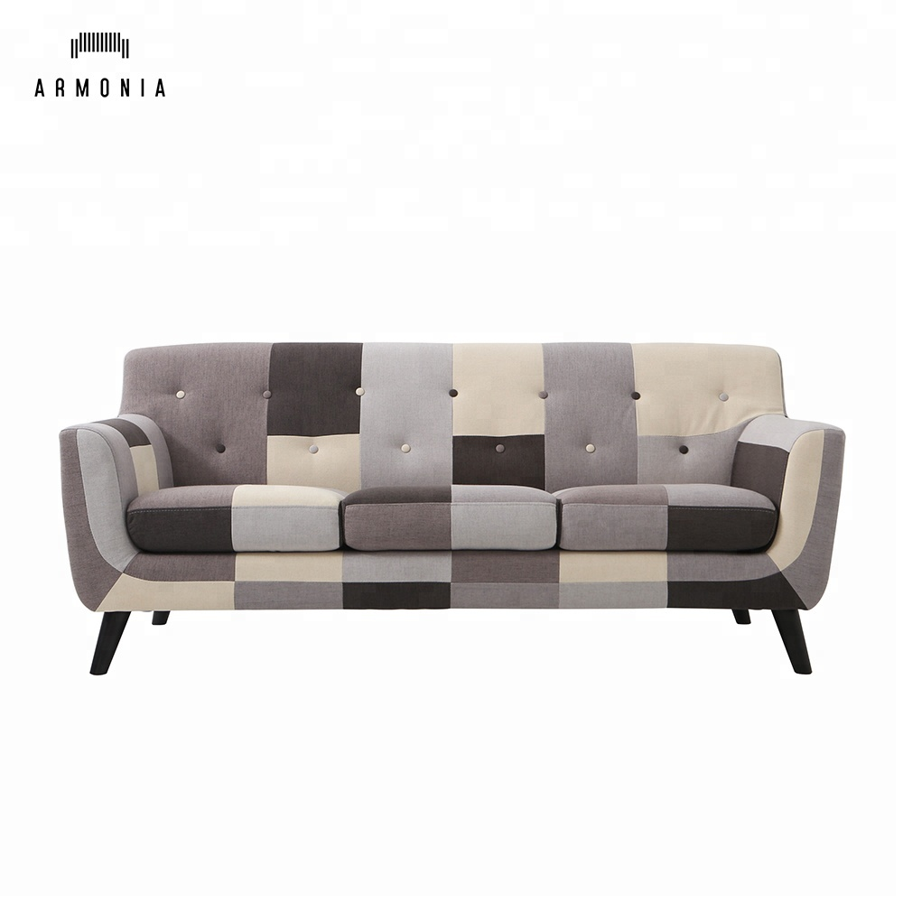 Patchwork Sofa Patchwork Color Lounge Sofa Design Chesterfield Furniture Fabric Sofa Buy Lounge Sofa Design Fabric Sofa Patchwork Sofa Product On Alibaba