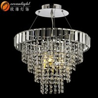 Crystal Stairs Chandelier Light Pendant Lamp Parts Church ...