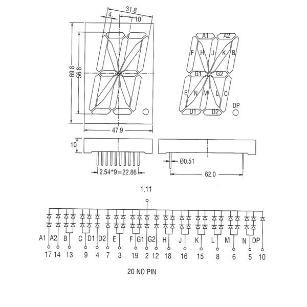 wire diagram 4 pin lcd