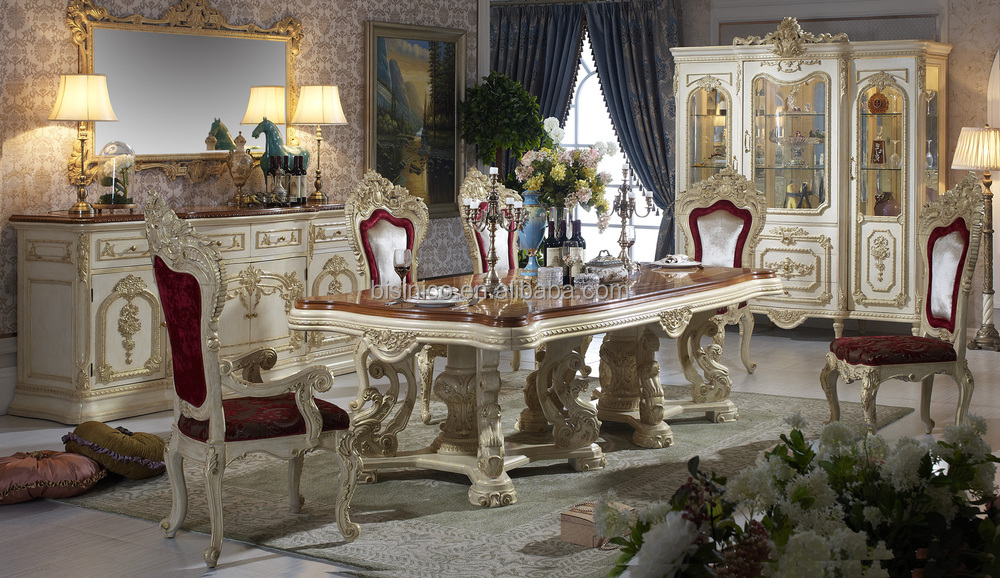 Esszimmer Victoria Bisini Luxury Italian Style Dining Table,french Royal