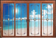 Double Pane Sliding Glass Doors With Built In Blinds - Buy ...