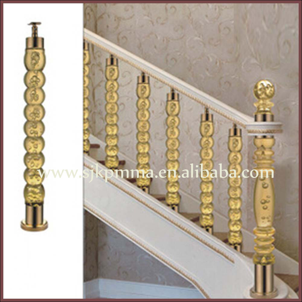 Stair Banister Acrylic Balustrade Clear Acrylic Wedding Columns - Buy