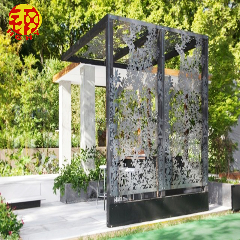 Privacy Screens Outdoor Stainless Steel Laser Cut Partition Decorative Outdoor Privacy Screens Garden Metal Panels For Landscaping Buy Metal Outdoor Privacy Screens Outdoor