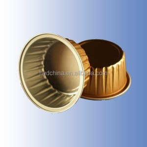 different colors Composited Aluminum Foil for food container