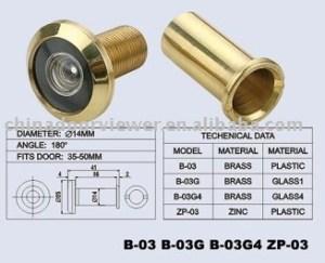 UL door viewer (B-03G4)