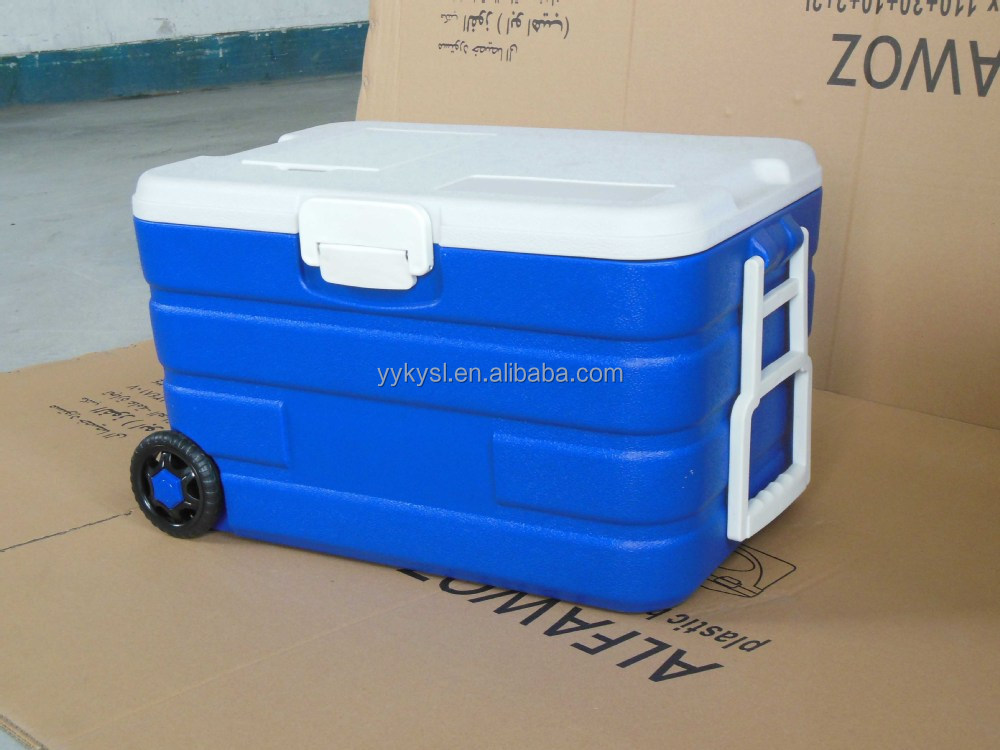 40l Trolley Cooler Box Insulated Ice Box With Wheels Buy
