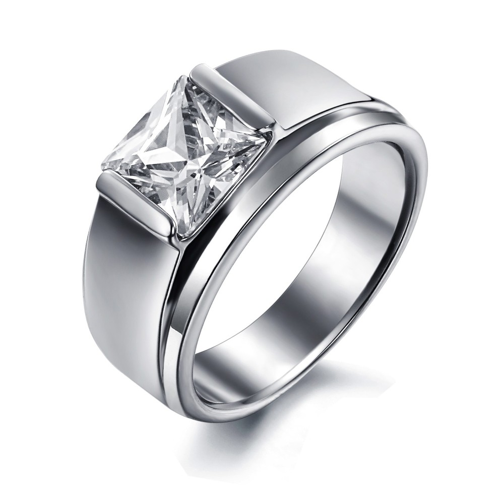 female wedding ring sets wedding ring for women Female wedding ring sets Lucky Stainless Steel Jewelry Charms Hot Wife Wedding Ring Gj