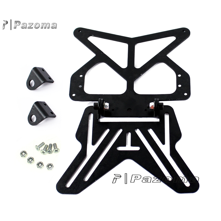 Glass Plate Hanger Motorbike Number Plate Hanger Bracket Universal For Motorcycle Road Legal And Show Plates Tail Tidy Black Buy Number Plate Bracket Motorcycle Black