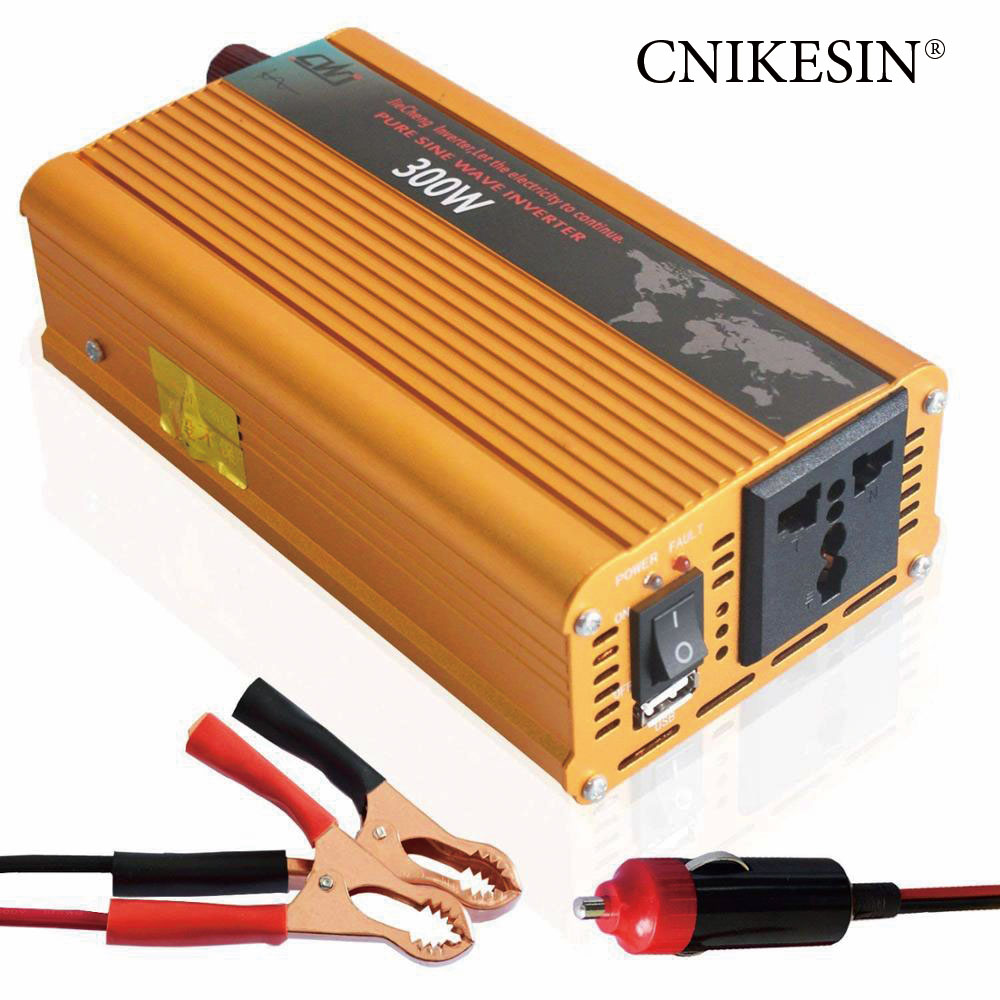 1000 Watt Pure Sine Wave Inverter Cnikesin Pure Sine Wave 12v 24v Dc To 220v Ac 200 Watt 300 Watt 1000 Watt Car Power Inverter Buy Welding Machine Inverter Any Power Inverter Power
