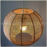 Nature Rattan Ball Pendant Lamp - Buy Nature Rattan Ball ...