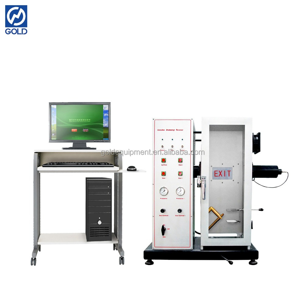 Density Testing Smoke Density Testing Machinery China Gold Astmd2843 Fire Test Equipment Buy Smoke Density Testing Machinery Astmd2843 Smoke Density Testing