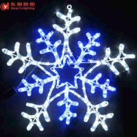 Window Decoration Christmas Large Snowflake Lights
