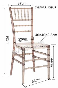 Cystal Resin Chiavari Chair/Chiavari Chair/ in Clear, View ...