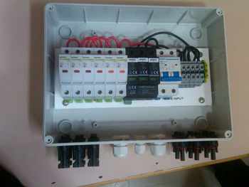 Array Junction Box Array Combiner Box Buy Solar Array