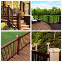 Wood Fiber Railing Decorative Balcony Fence Fence And ...