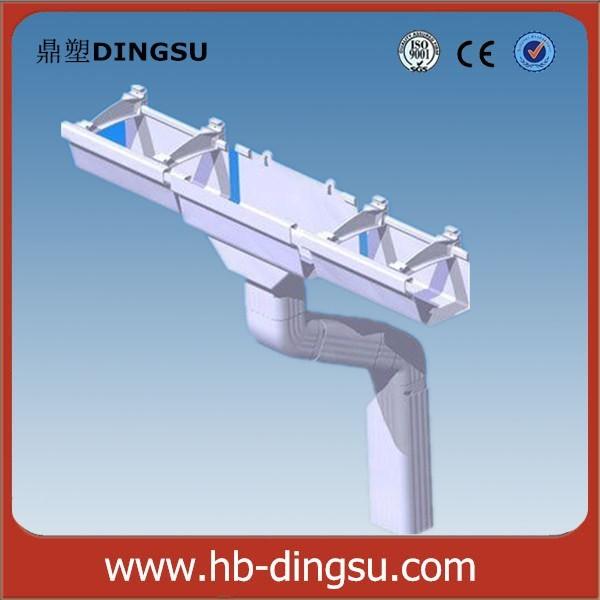Pvc Drainage Pipe/ Rain Water Roof Drain Gutter System