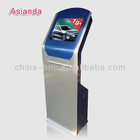 Floor standing 19 inch I5 CPU indoor LCD IR touch screen Kiosk display