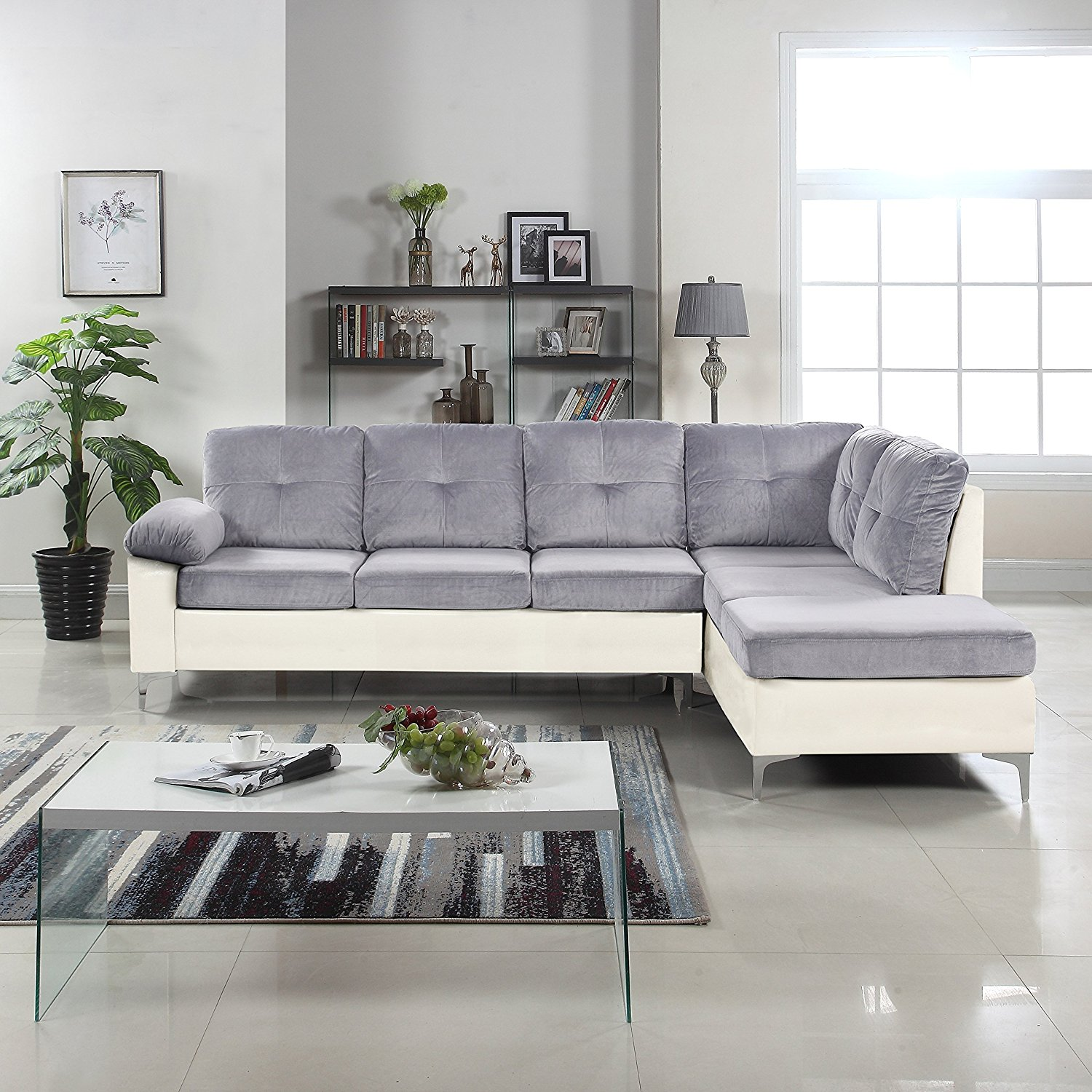 Microfiber Sectional Sofa Cheap White Microfiber Sectional Sofa Find White Microfiber
