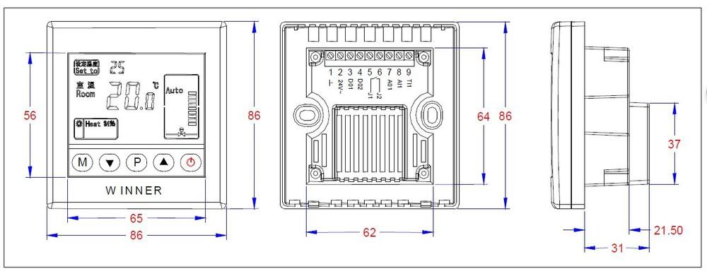 humidity fan wiring diagram