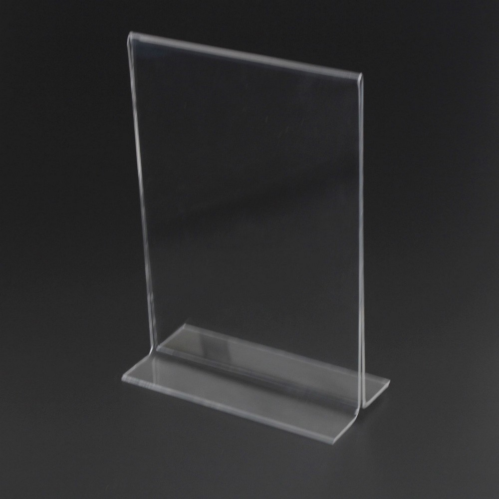 Wholesale Produce Company Wholesale High Quality Clear Acrylic A5 Menu Stand Buy