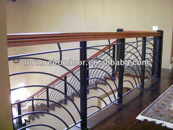 High Quality Interior Wrought Iron Stair Railings Buy