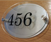 Custom Hotel Outdoor Sign,Acrylic Room Number Sign - Buy ...
