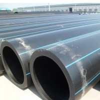 10 Inch 280mm Od Hdpe Drain Pipe