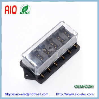 Universal Car Truck Vehicle 12v 6 Way Circuit Automotive Middle