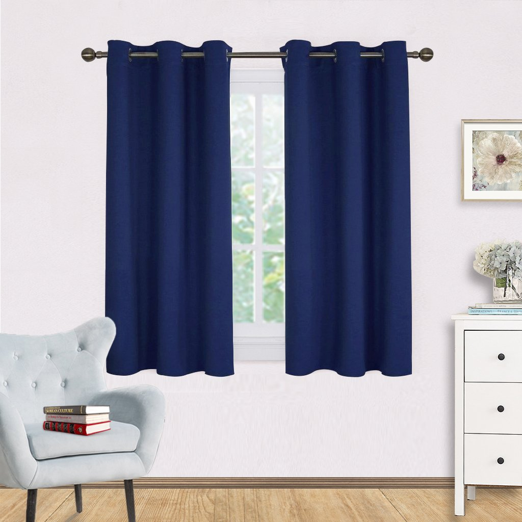 45 Inch Blackout Curtains Cheap Blackout Navy Curtains Find Blackout Navy Curtains Deals On