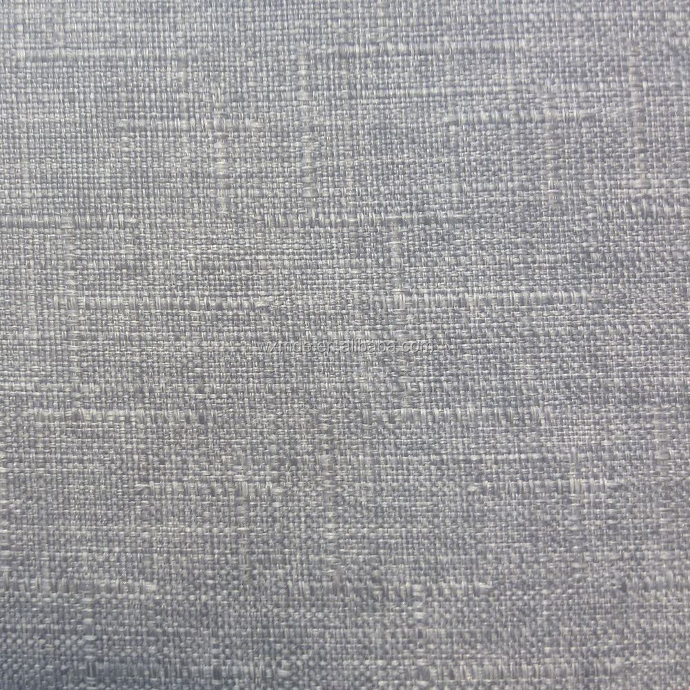 100% Polyester Fabric For Sofa Or Upholstery Linen Look