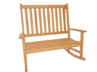 High Back Double Rocker Rocking Chair/bench High Back ...