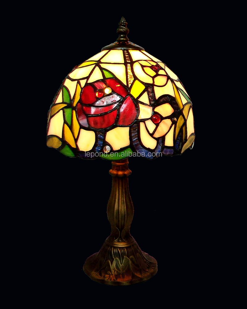 Lamp Glas In Lood 8 Inch Stained Glass Lamp Shade Handmade Tin Soldering Making Art Dragonfly Lake Buy Stained Glass Lampshade Glass Lampshade Beautiful Design Glass