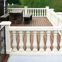 European Morden Design Home Decoration Balcony Stone ...