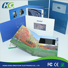 """2.4/4.3/5/7/10"""" LCD Video Greeting Card/LCD Video Brochure/LCD Video Book for advertisement"""
