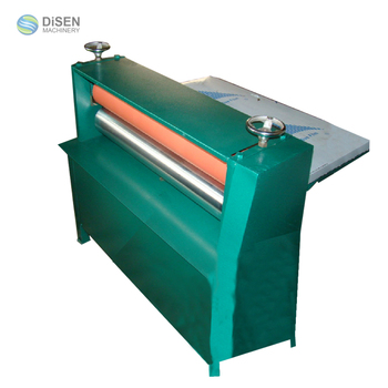 Roller Pressing Machine Thin Paper Leather Corrugated Paper After