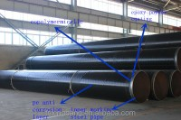 Corrosion Protection Seamless Black Coating Carbon Steel ...